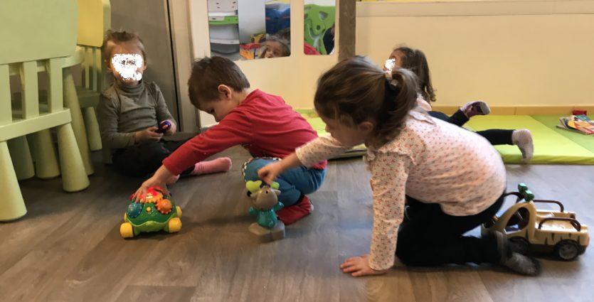 garde d'enfants Saint Victoret crèche